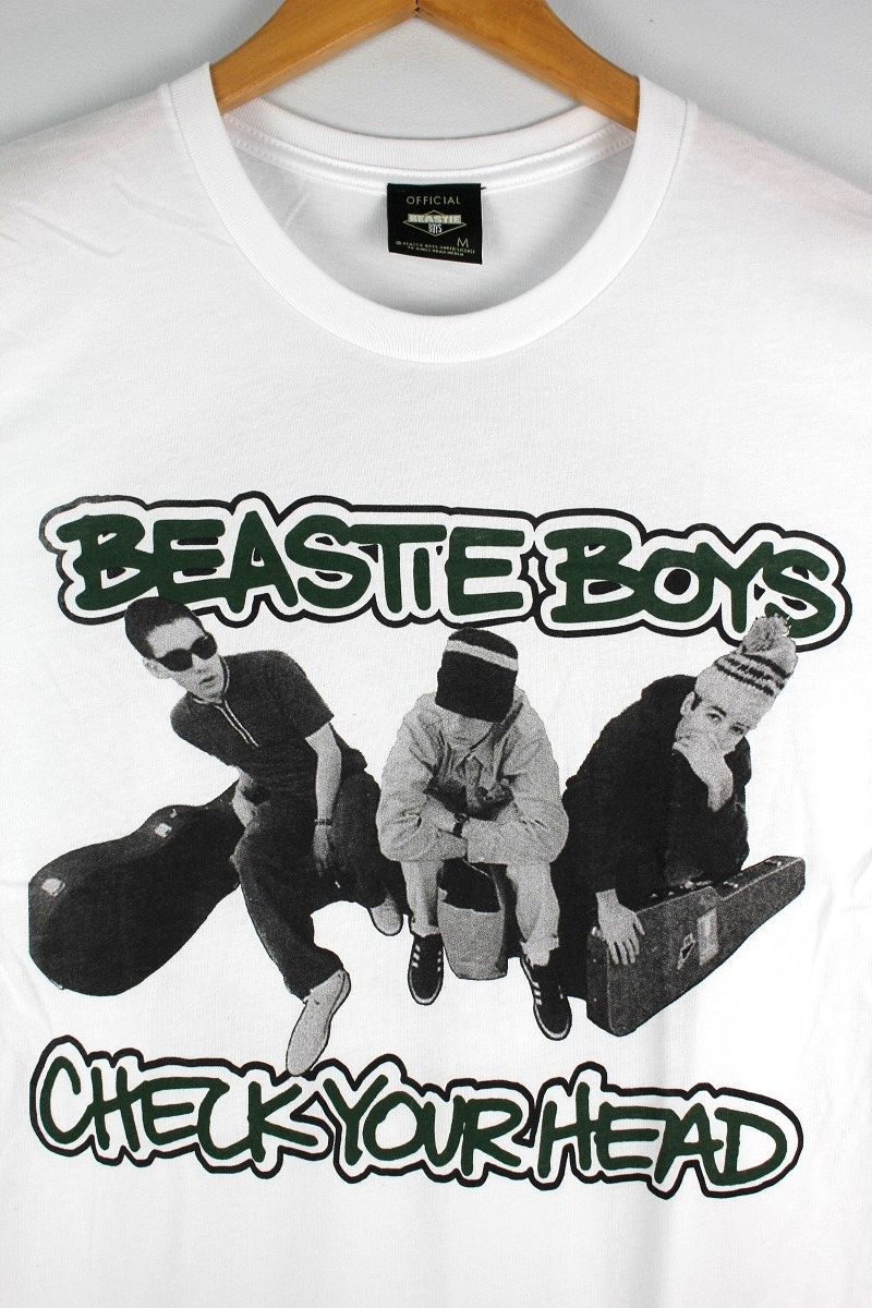"BEASTIE BOYS / ""BEES TEA"" Tee / white"