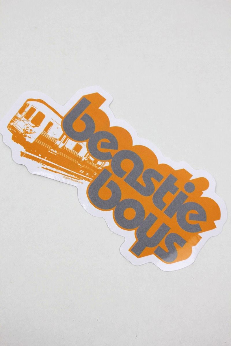 "BEASTIE BOYS / ""TRAIN"" STICKER"