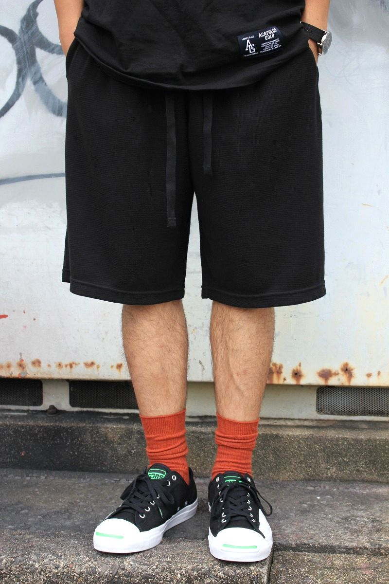 POLO RALPH LAUREN / THERMAL SHORTS / black