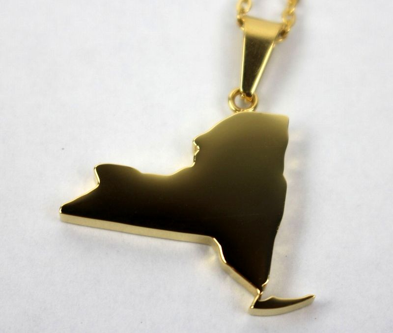 "GOLDEN GILT / ""NEWYORK"" NECKRACE / gold"