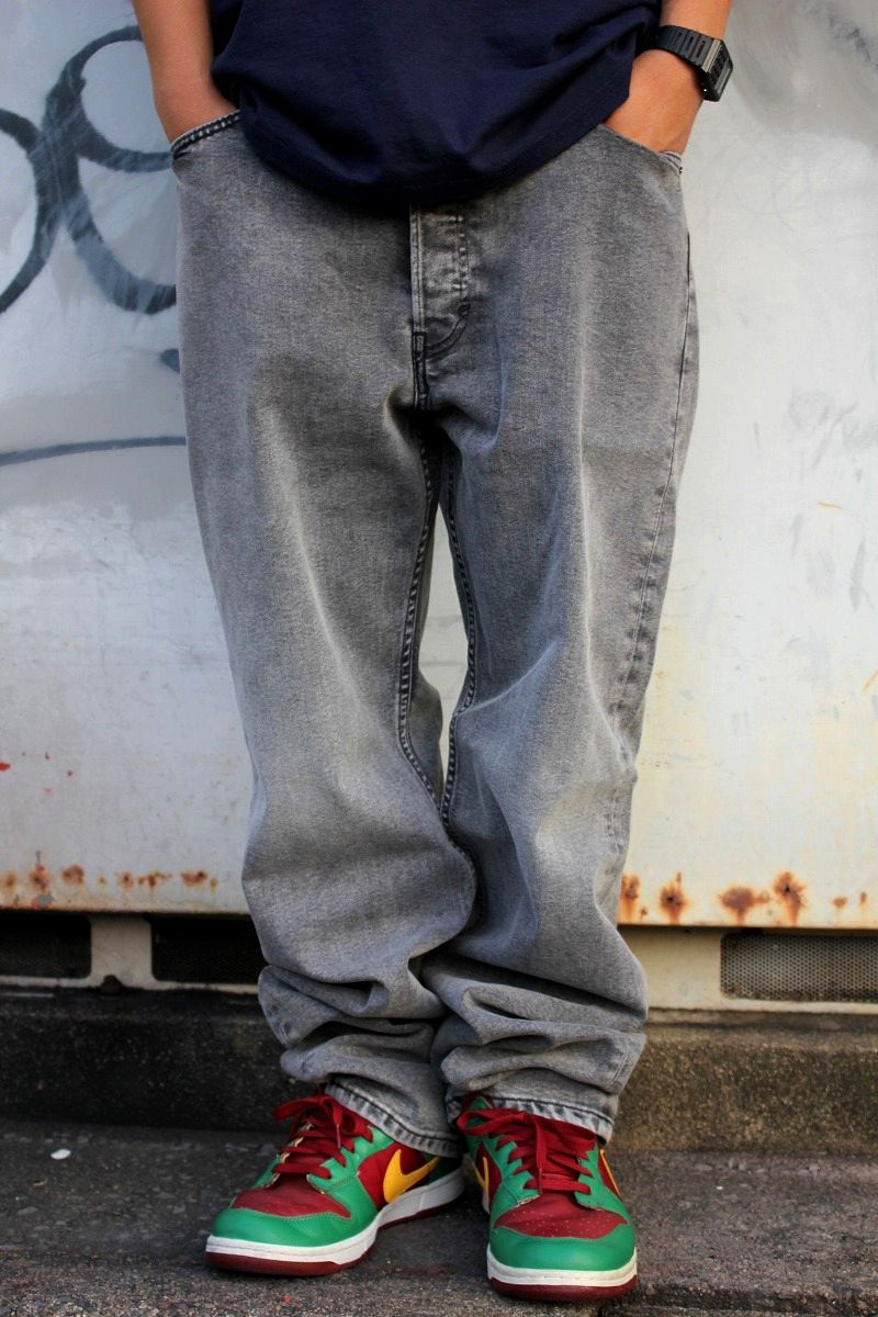 LEVI'S SKATEBOARDING / 501 DENIM PANTS / grey indigo