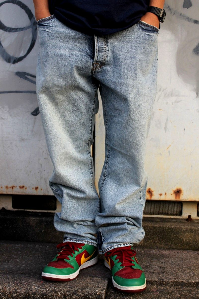 LEVI'S SKATEBOARDING / 501 DENIM PANTS / indigo