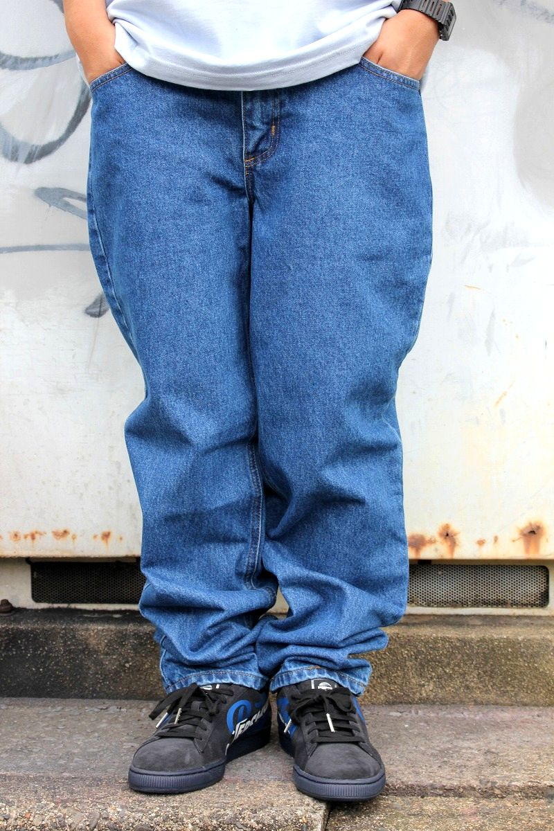 CARHARTT / BUGGY DENIM / stone washed indigo