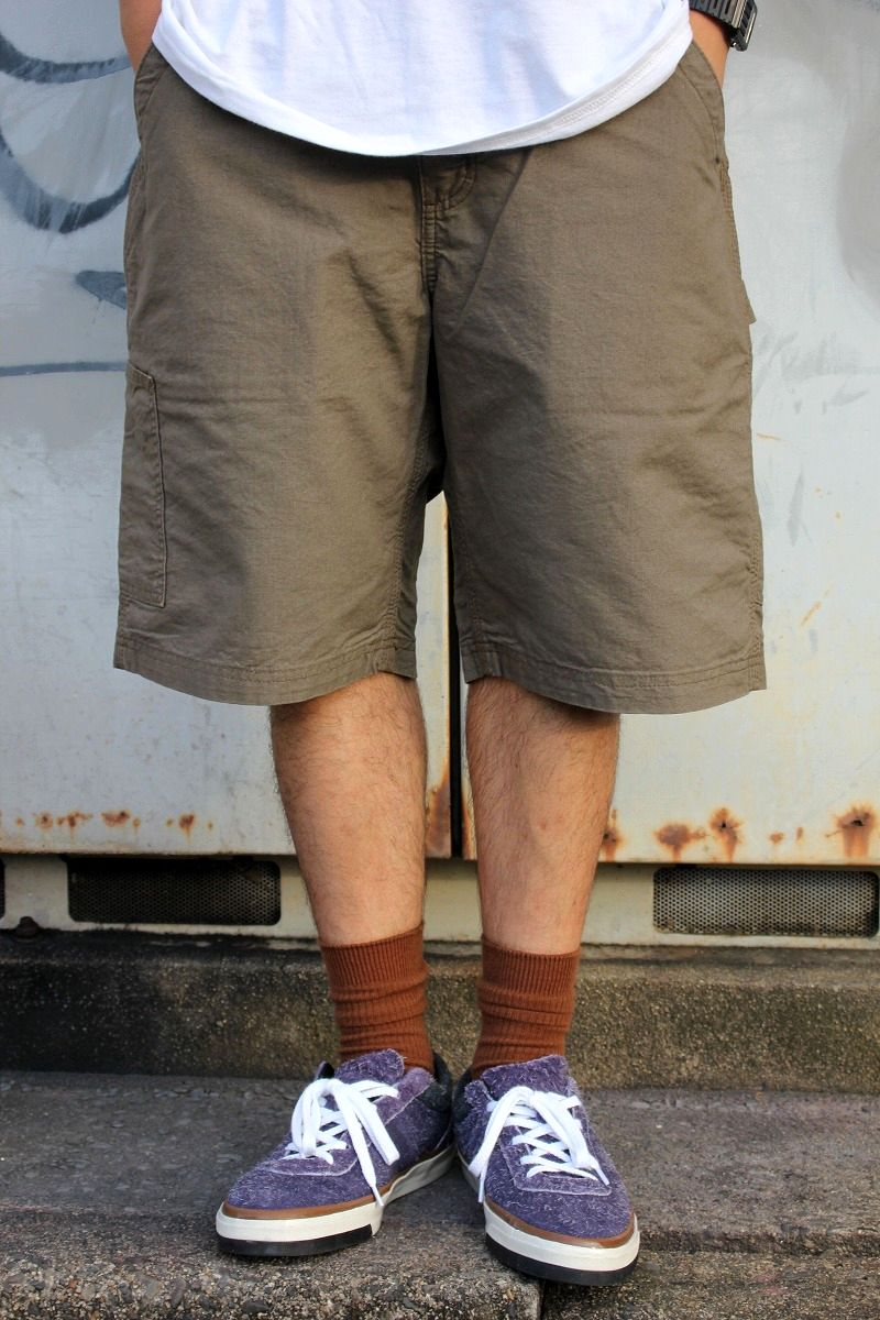 CARHARTT / LOOSE FIT PAINTER SHORTS / light brown