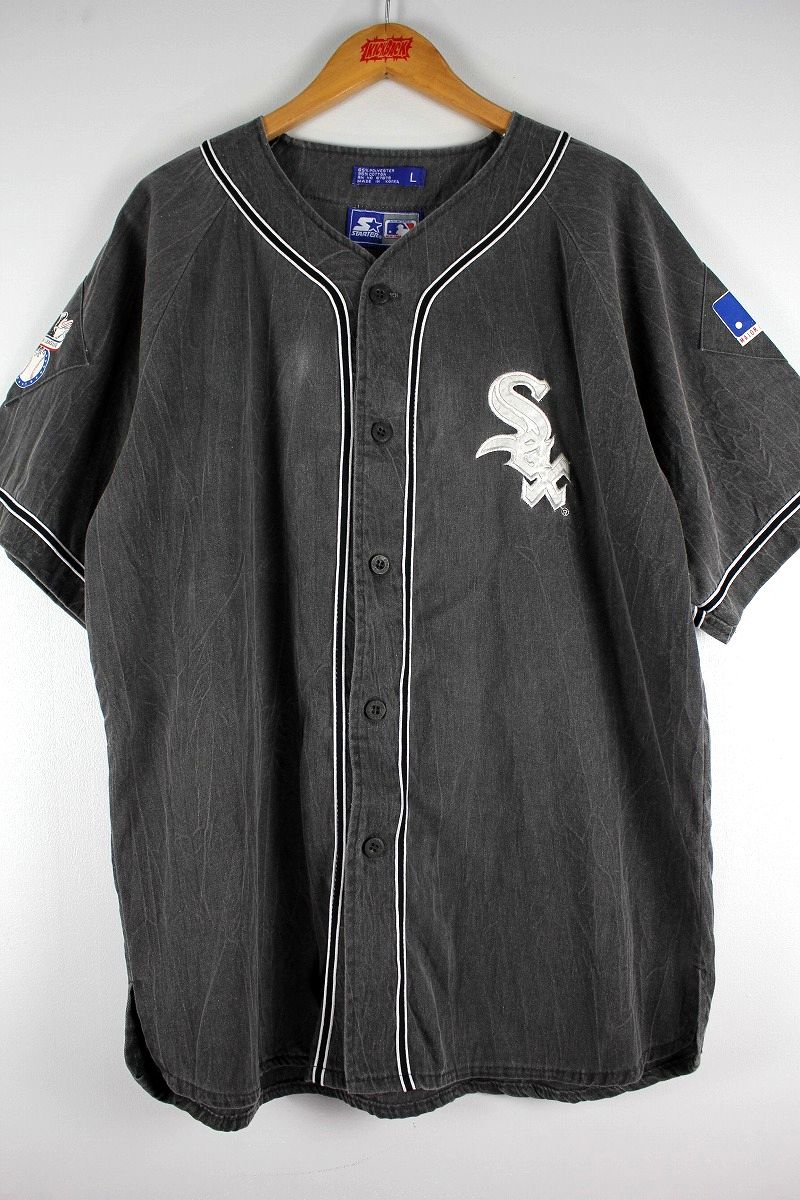 "USED!!! STARTER / ""CHICAGO WHITE SOX"" BASEBALL JERSEY (90'S) / chacoal"