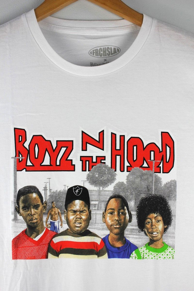 """BOYZ N THE HOOD / """"FRCHSLA"""" Tee / white"""