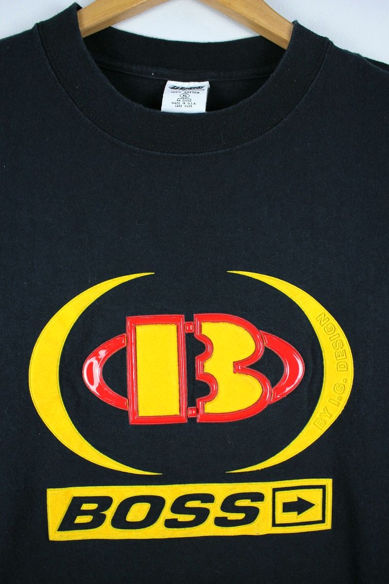 USED!!! BOSS / 3D LOGO Tee (90'S) / black