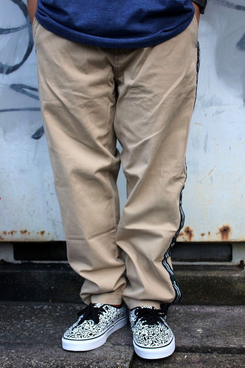 POLO RALPH LAUREN / SIDE-LINE CHINO PANTS / khaki
