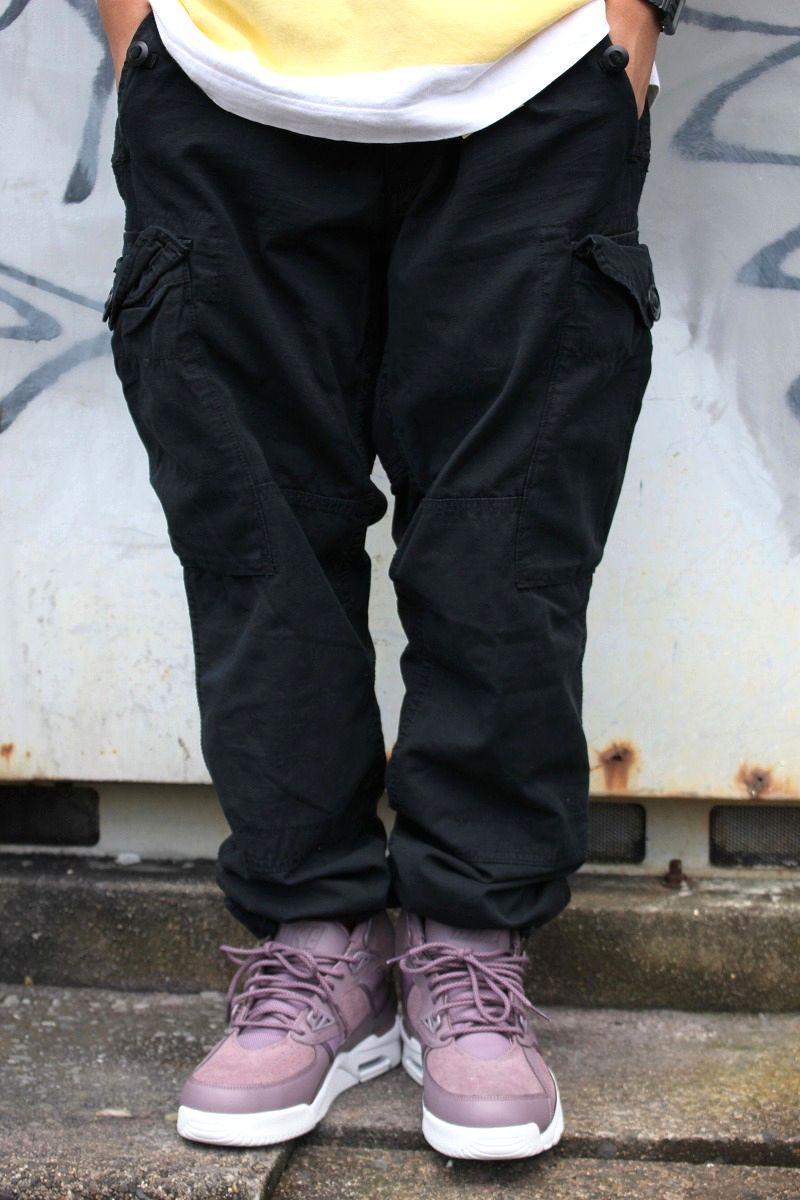 POLO RALPH LAUREN / STRAIGHT-FIT 6POCKET CARGO PANTS / black