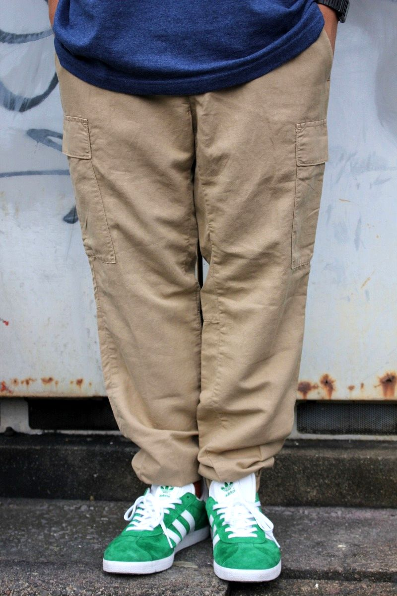 POLO RALPH LAUREN / STRAIGHT-FIT CARGO JOGGER PANTS / beige