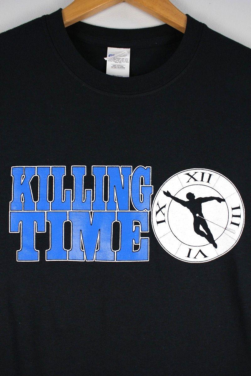 """KILLING TIME / """"CLOCK"""" Tee / black"""