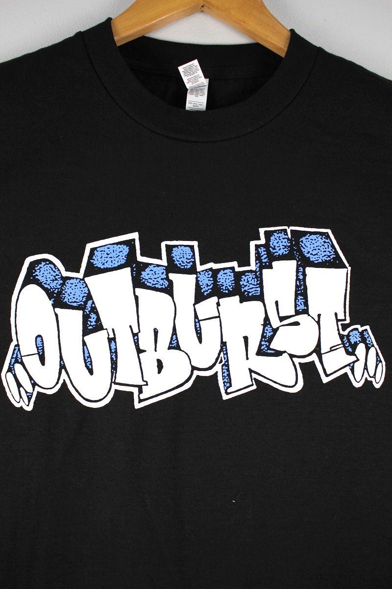 """OUTBURST / """"LOGO"""" Tee / black"""