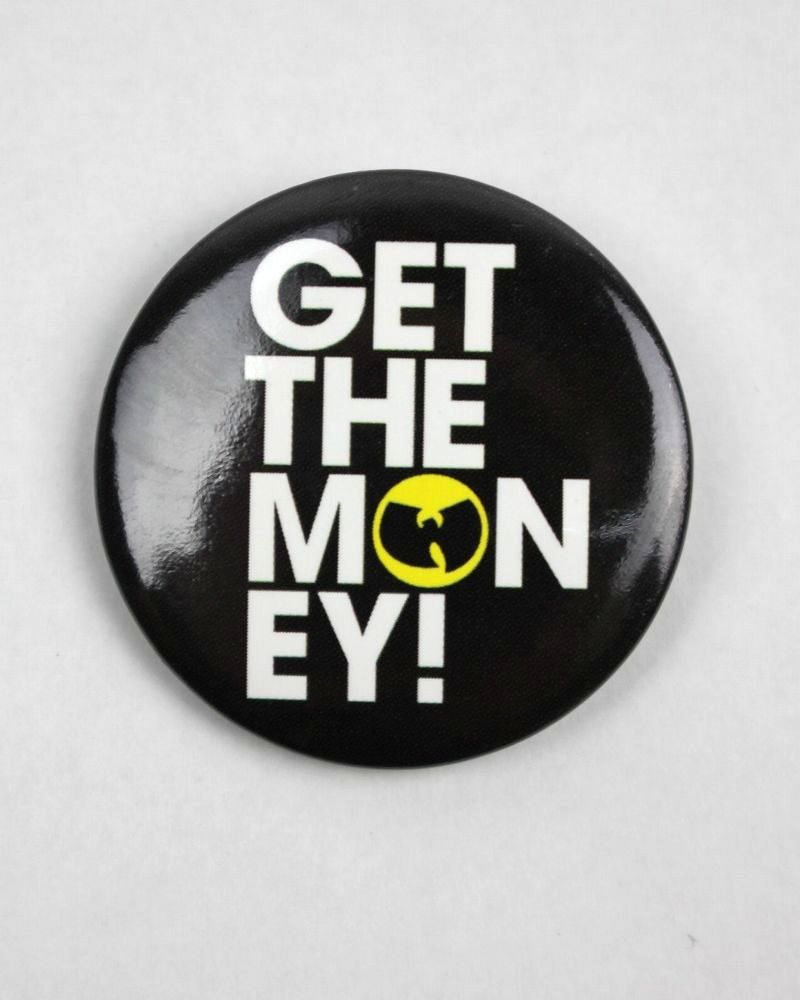 WU-TANG CLAN / BUTTON BADGE