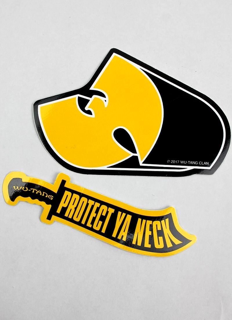 WU-TANG CLAN / STICKER SET