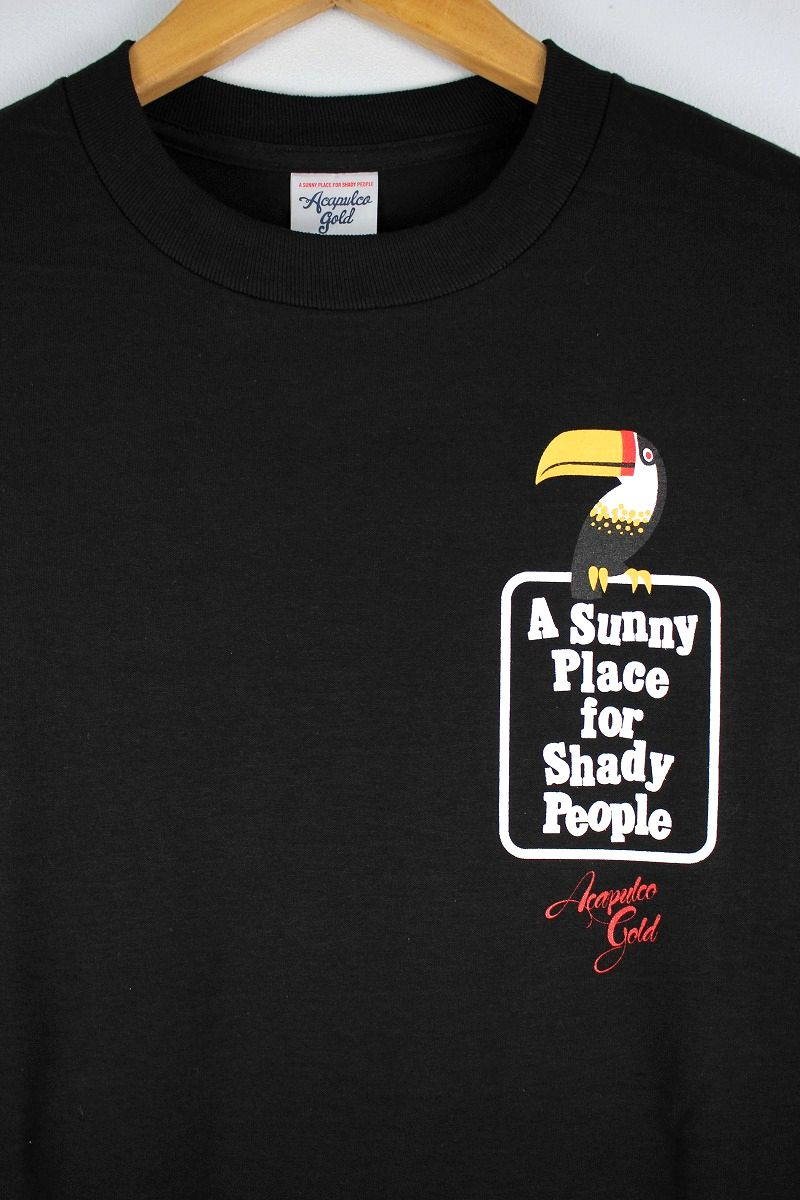"ACAPULCO GOLD / ""TOUCAN"" Tee / black"