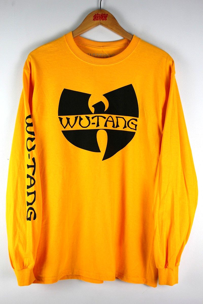 WU-TANG CLAN / LOGO LS Tee / yellow