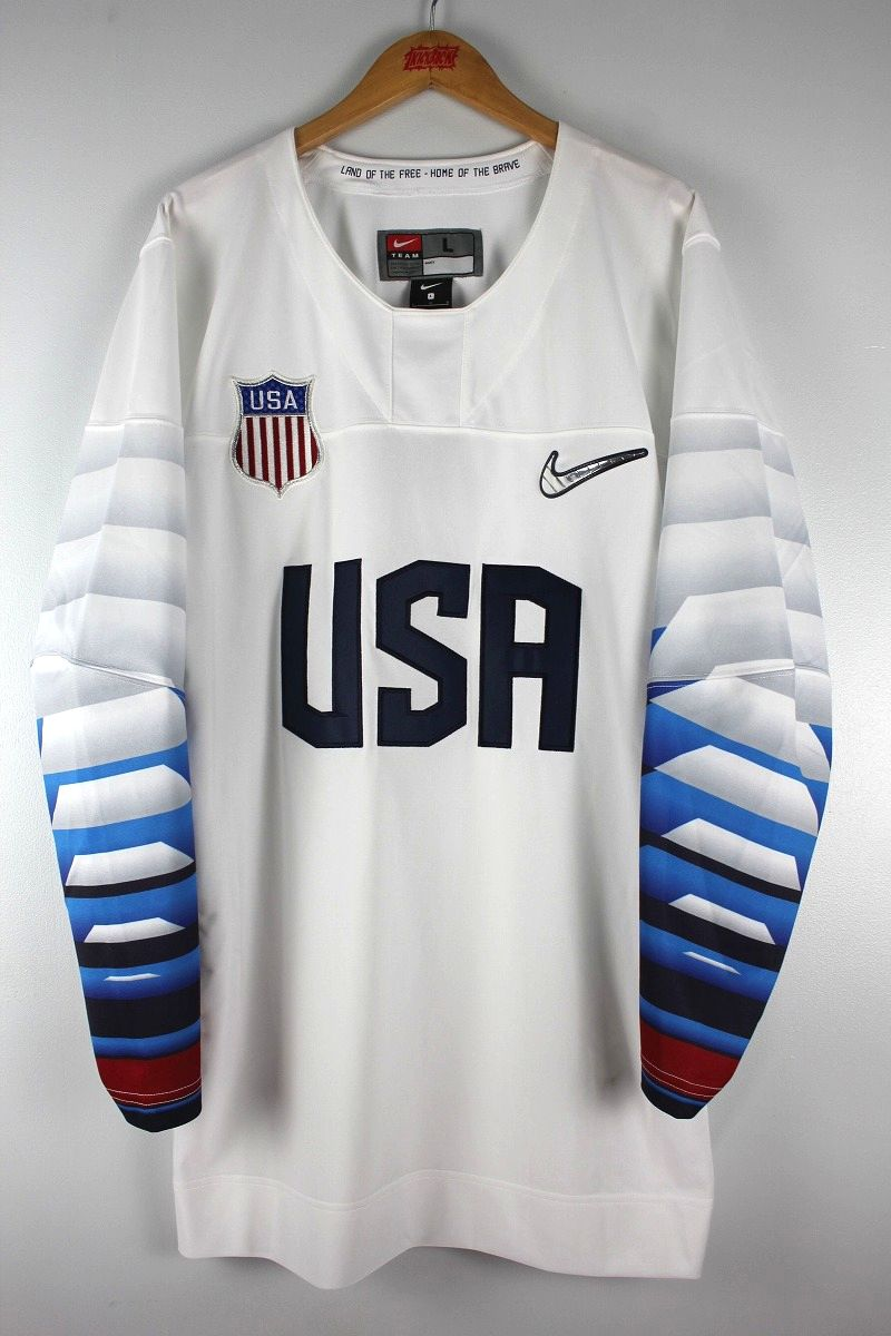 "NIKE / ""USA"" HOCKEY JERSEY / white×navy"