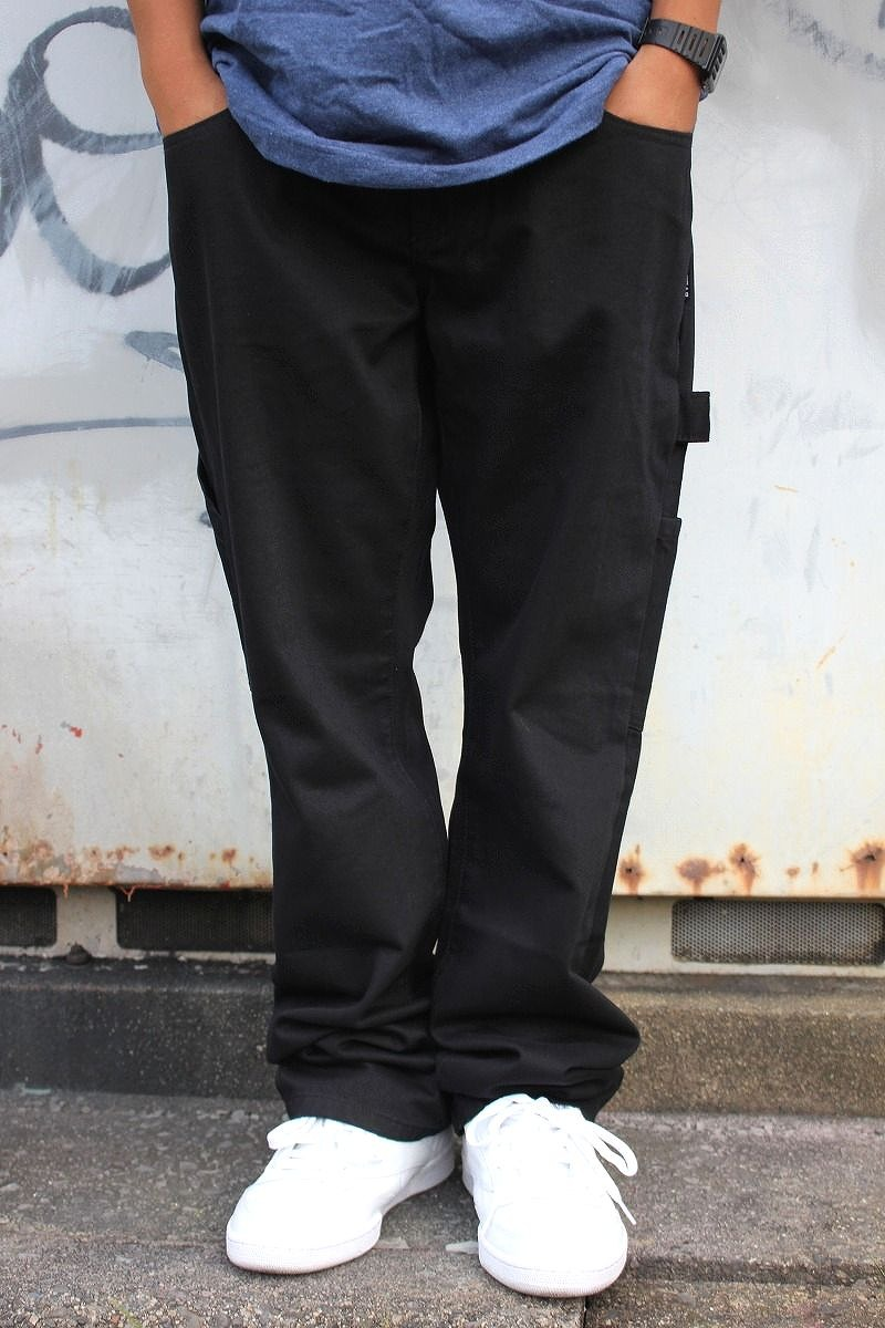 WU WEAR / CARPENTER PANTS / black