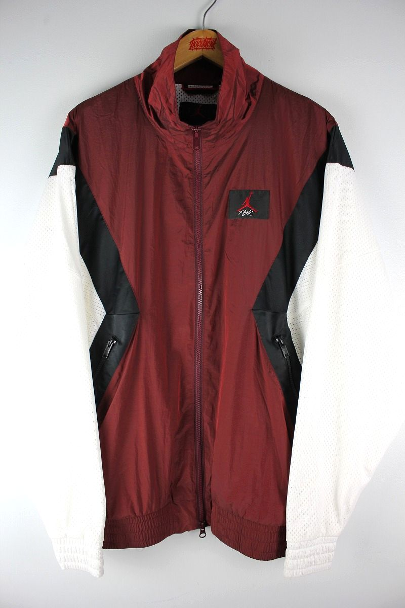 "AIR JORDAN / ""FLIGHT"" NYLON JACKET / burgundy×black×white"