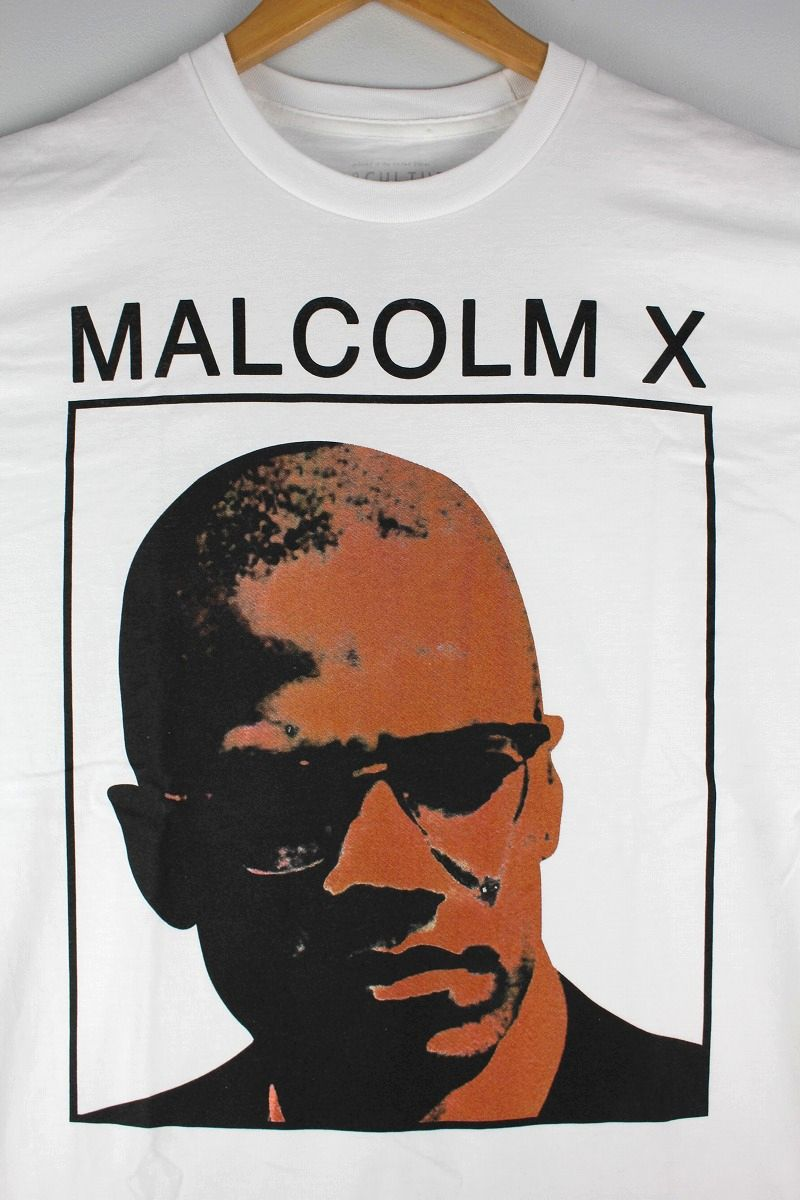 "REP CULTURE / ""MALCOLM X"" Tee / white"