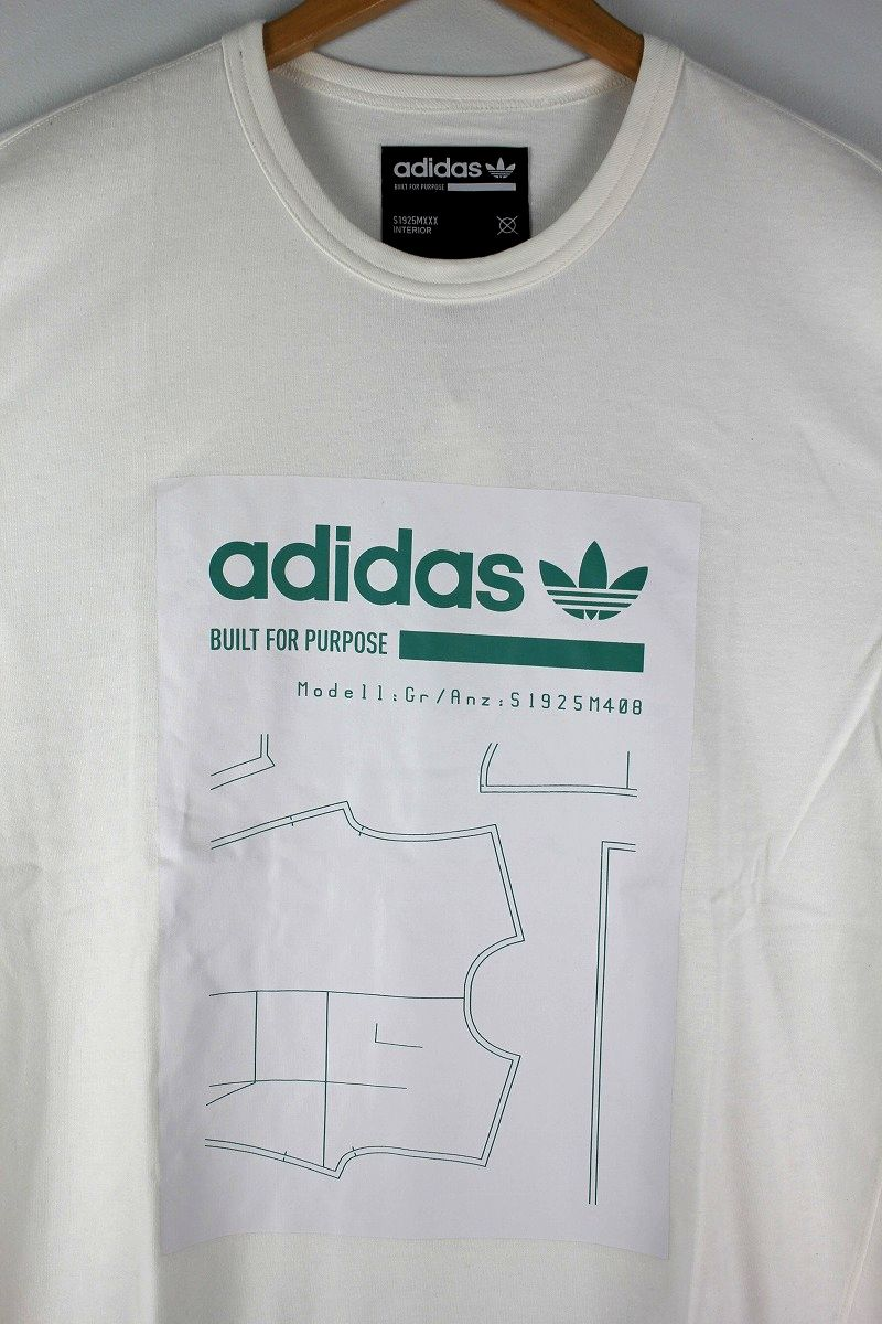 "adidas ORIGINALS / ""GRP"" Tee / white"