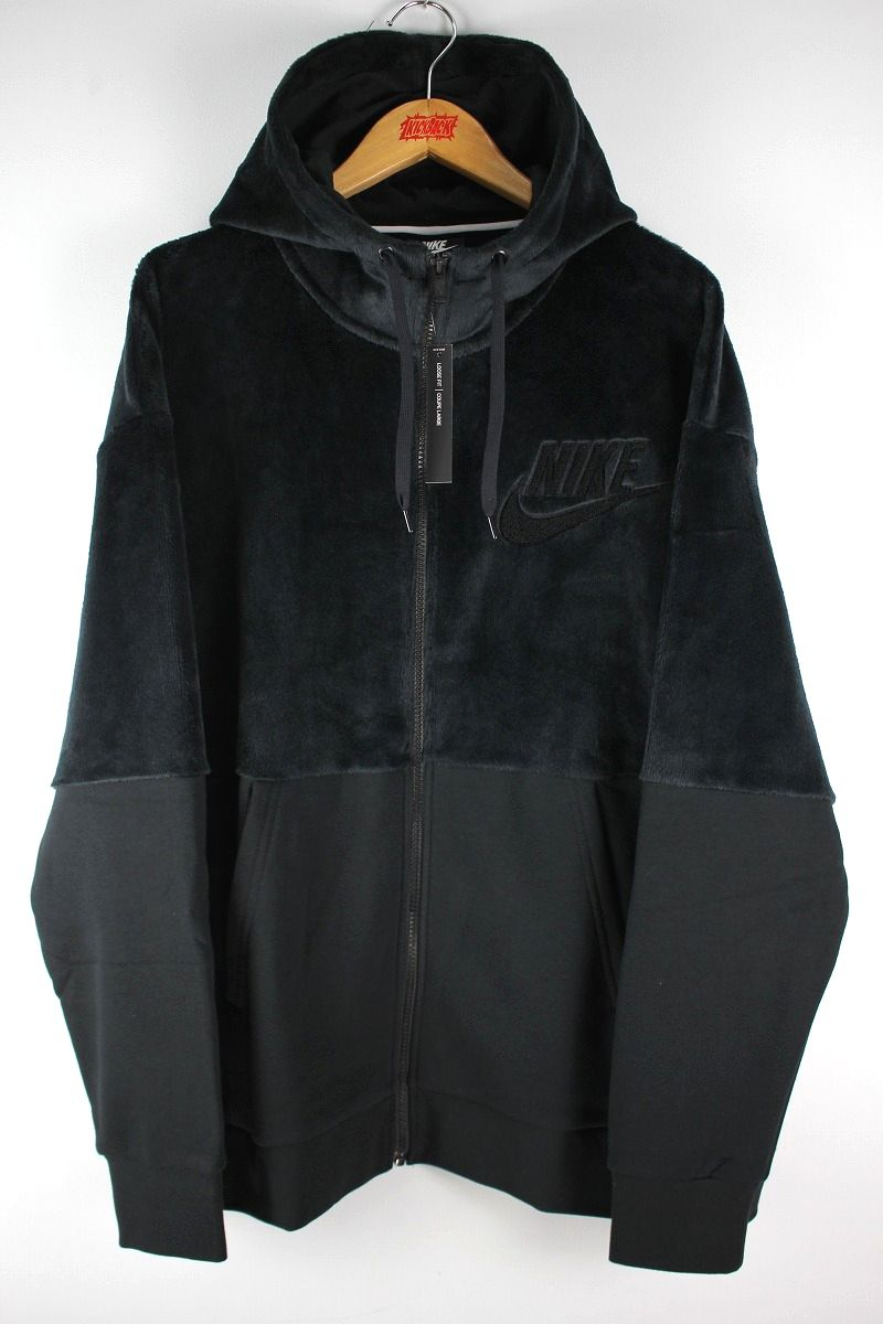 NIKE / WINTERIZED ZIP-UP HOODY / black