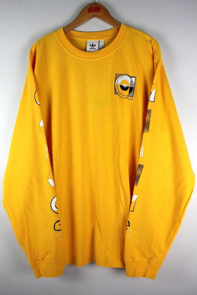 adidas ORIGINALS / GRAPHIC LS Tee / yellow
