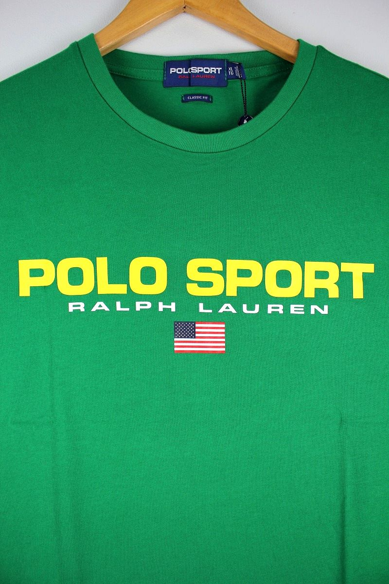 POLO SPORT / LOGO Tee / green