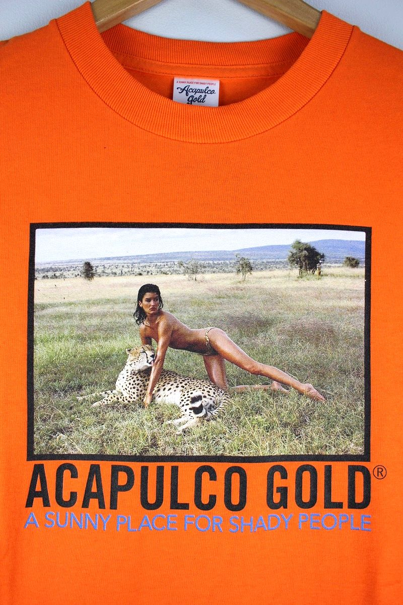 "ACAPULCO GOLD / ""LEOPARD"" Tee / orange"
