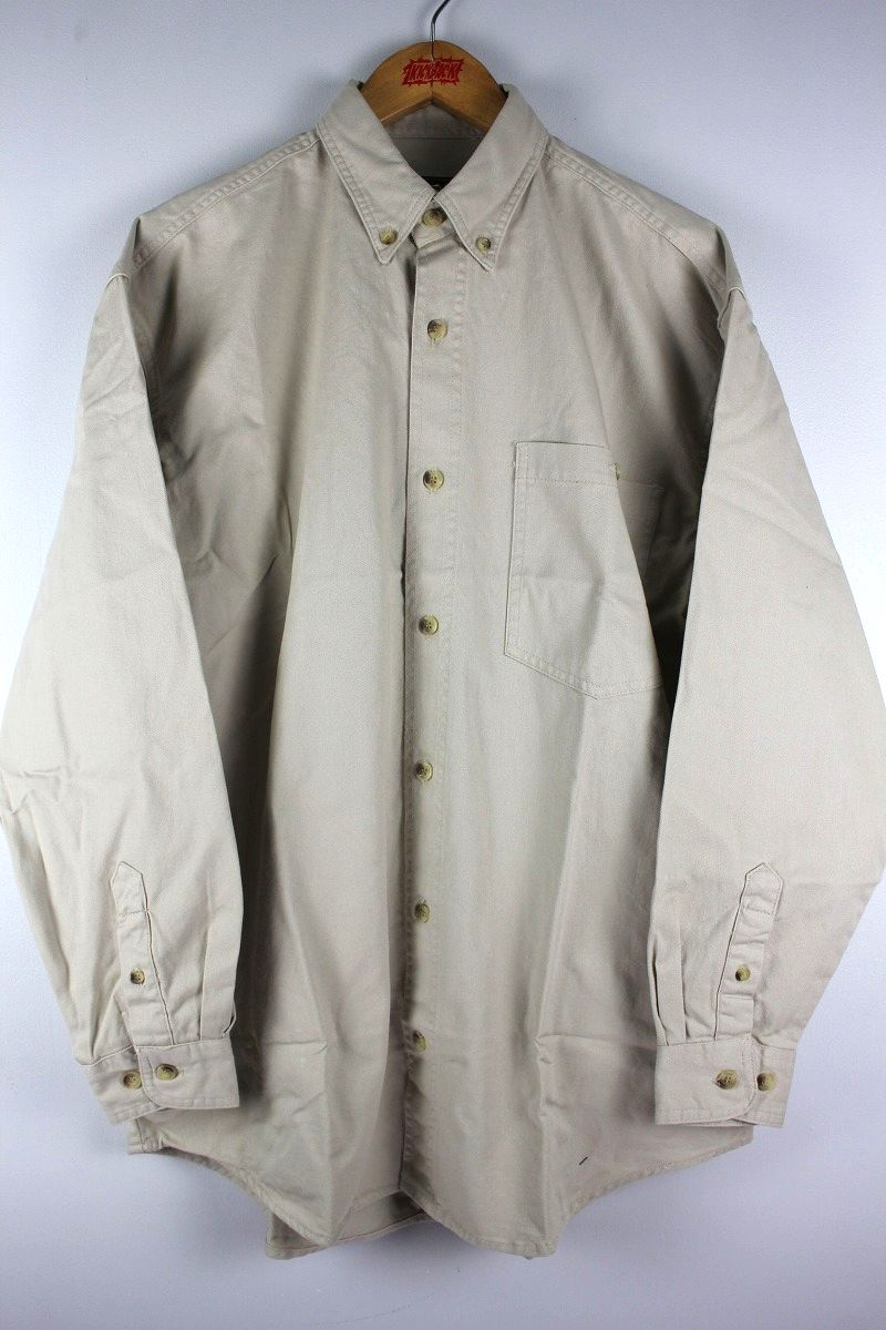 COBRA CAPS / RELAX FIT LS DENIM SHIRTS / ivory