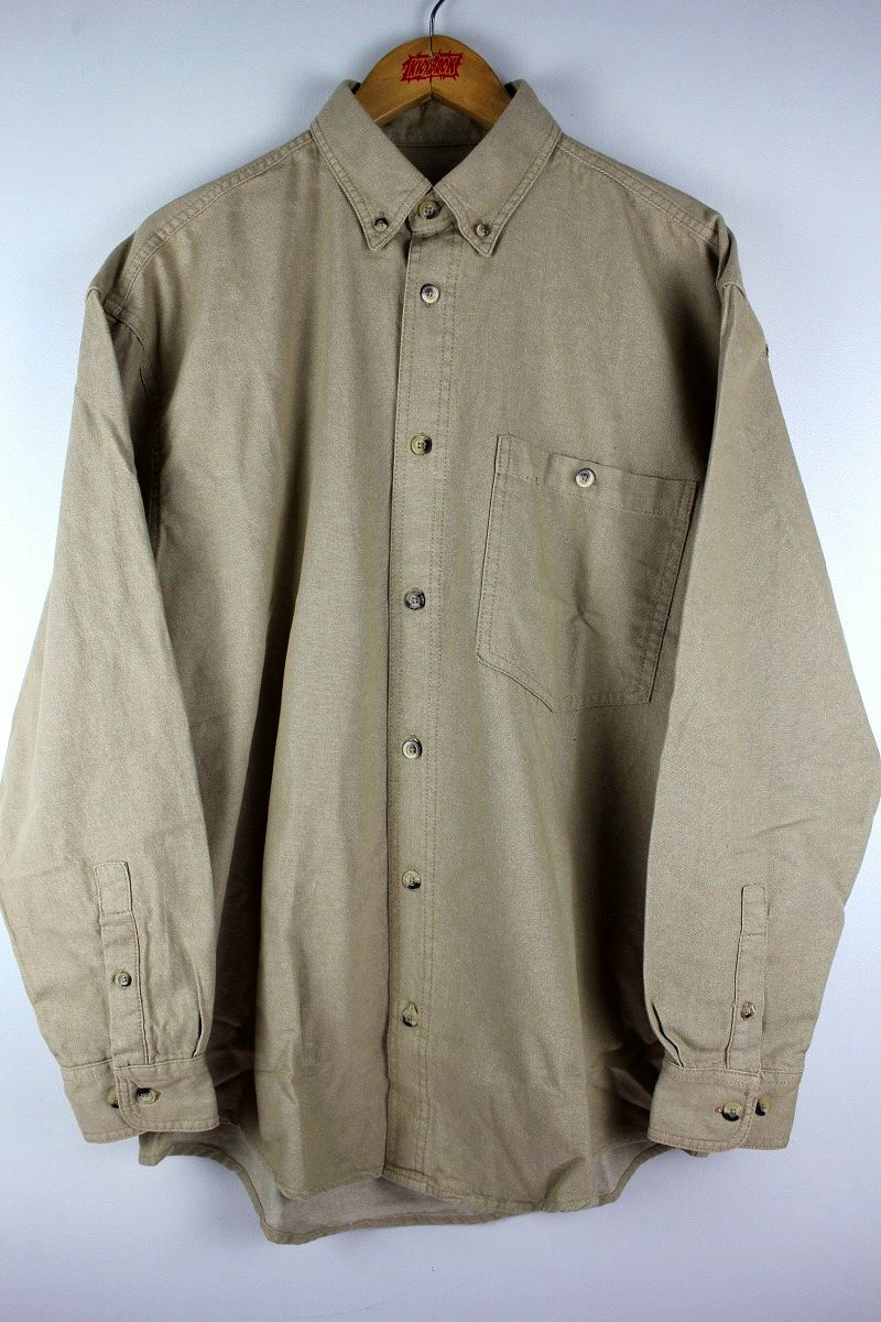 COBRA CAPS / RELAX FIT LS DENIM SHIRTS / beige