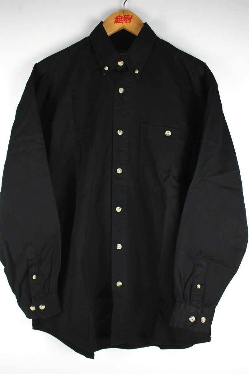 COBRA CAPS / RELAX FIT LS DENIM SHIRTS / black