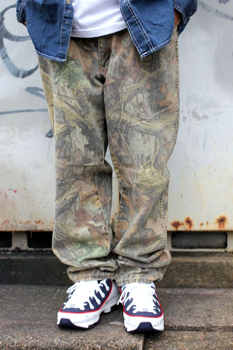 USED!!! PRO GEAR by WRANGLER / CAMO JEANS (00'S) / real tree camo