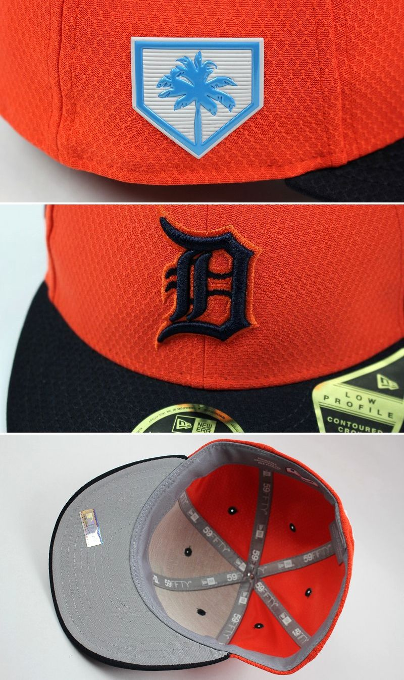 "NEWERA / ""DETROIT TIGERS"" LOW PROFILE FITTED CAP / orange×black"
