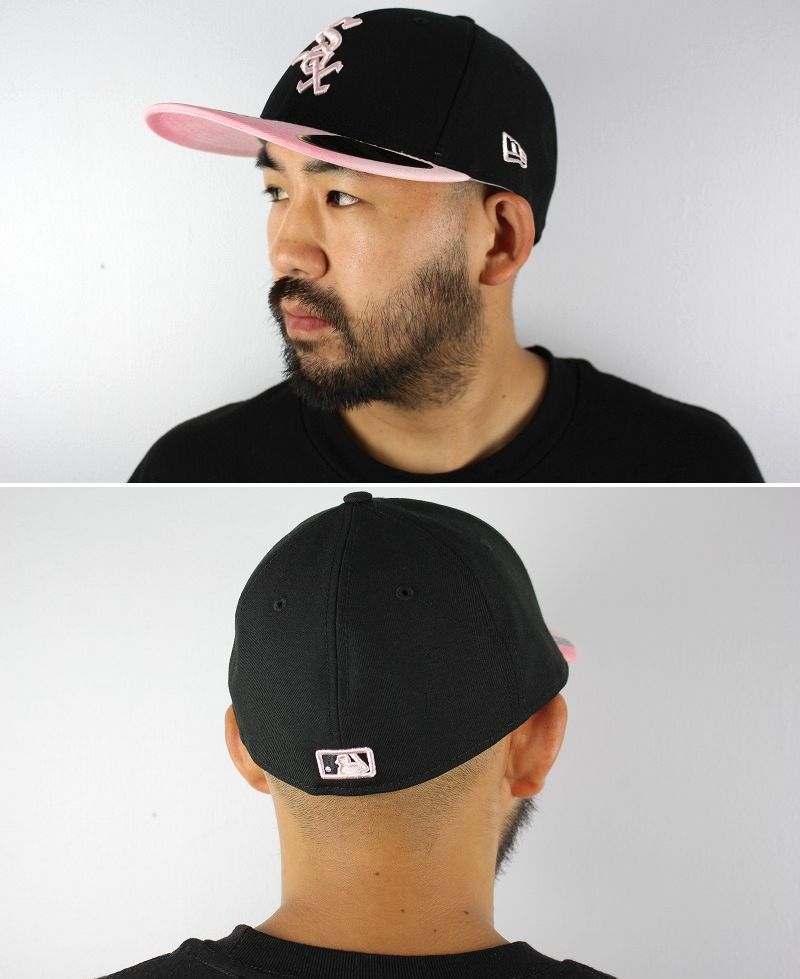 """NEWERA / """"CHICAGO WHITE SOX"""" MOTHERS DAY LOW PROFILE FITTED CAP / black×pink"""