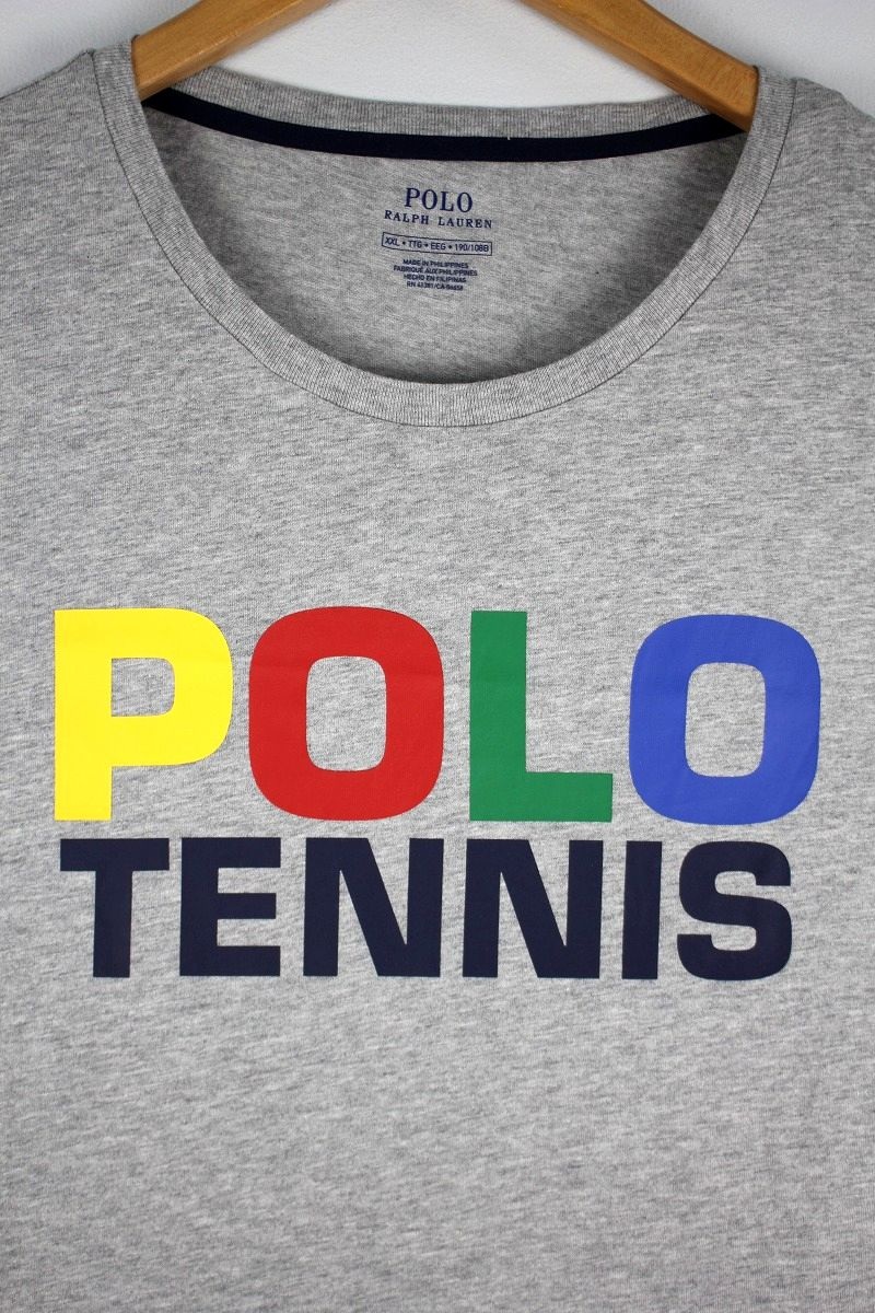 "POLO RALPH LAUREN / ""US OPEN 2019"" OFFICIAL Tee / heather grey"