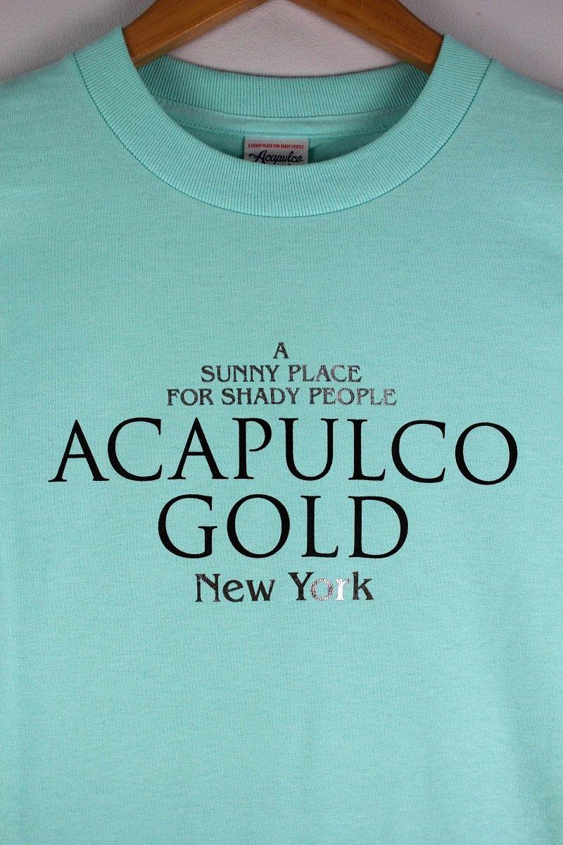 "ACAPULCO GOLD / ""SHINE"" Tee / celadon"