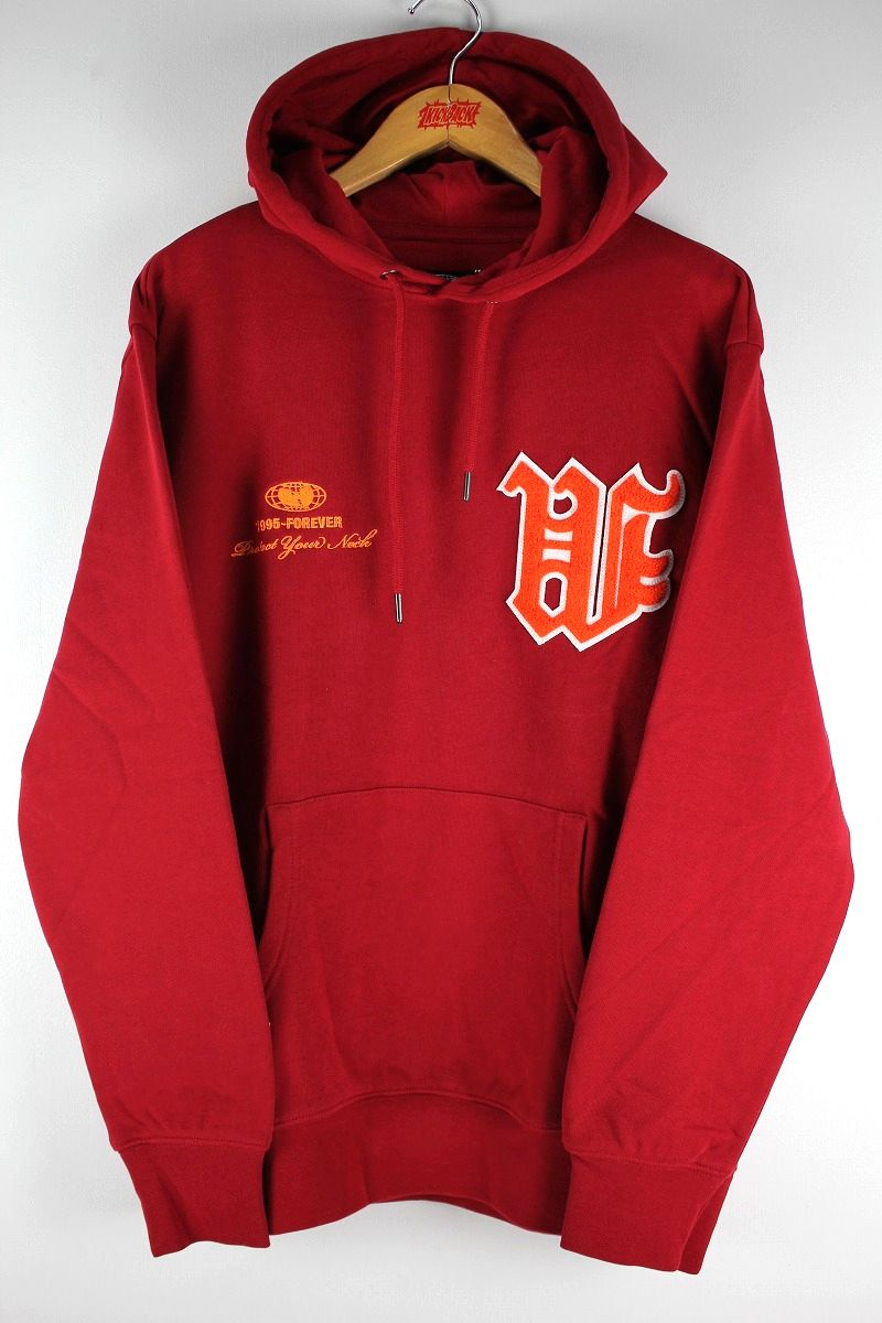 "WU WEAR / ""W"" PULLOVER SWEAT HOODY / cardinal"