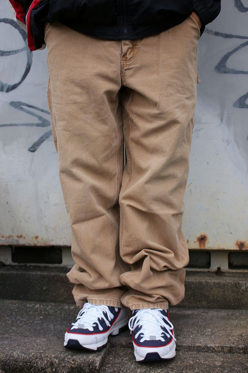 USED!!! CARHARTT / PAINTER PANTS (00'S) / washed brown