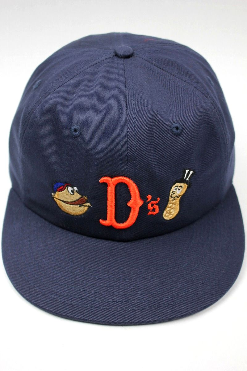 "ACAPULCO GOLD / ""NUTTY"" STRAPBACK CAP / navy"