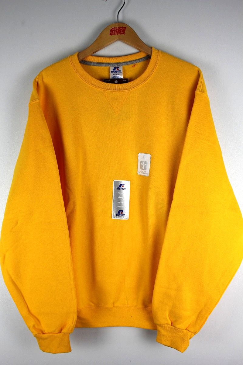 RUSSEL ATHLETIC / CREWNECK SWEAT / yellow