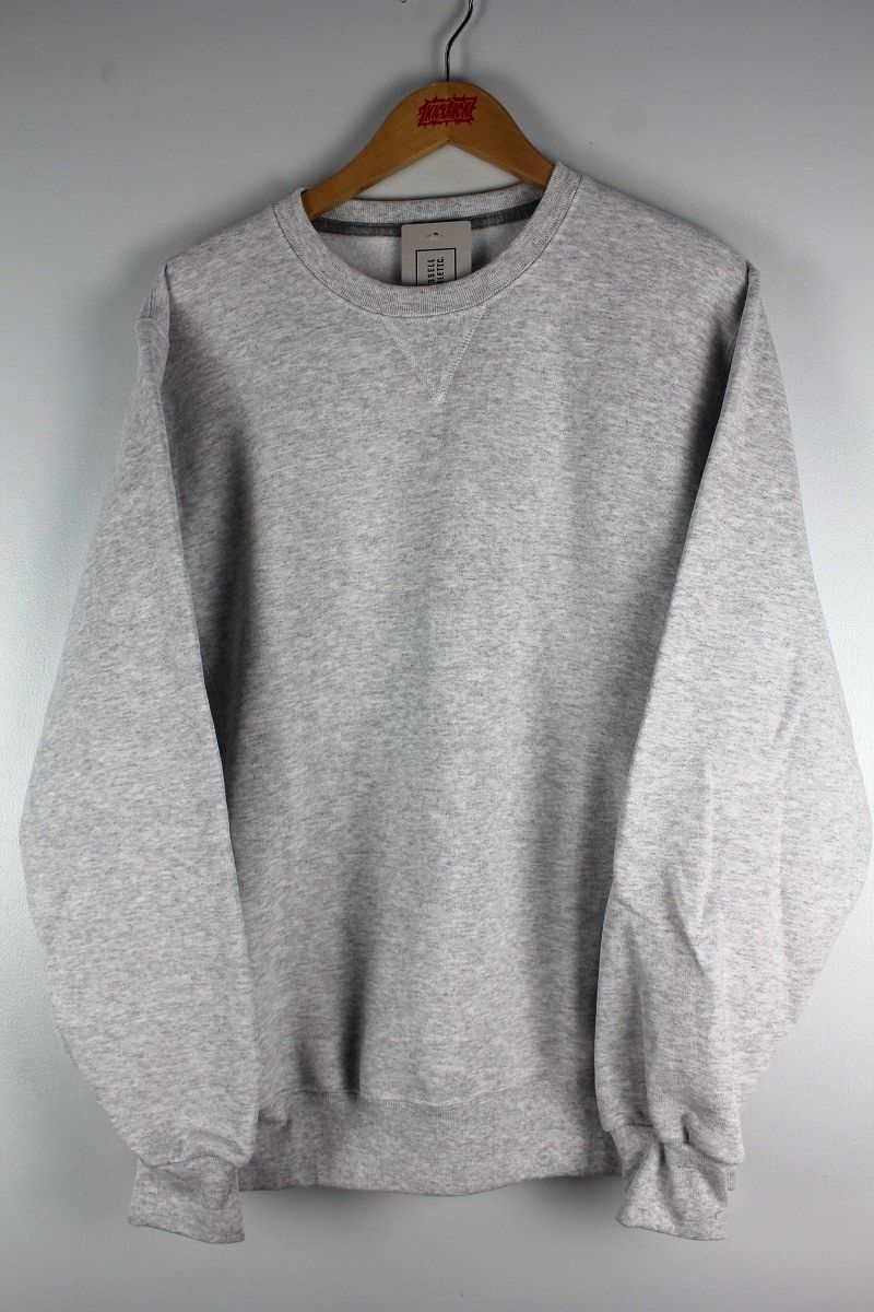 RUSSEL ATHLETIC / CREWNECK SWEAT / light heather grey