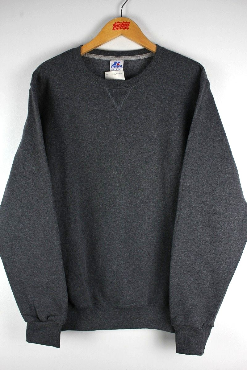 RUSSEL ATHLETIC / CREWNECK SWEAT / chacoal heather
