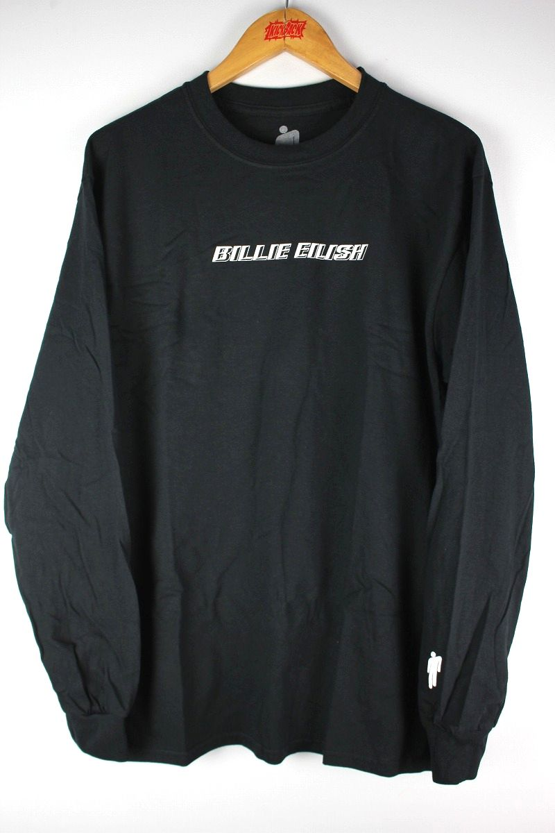 BILLIE EILISH / LOGO LS Tee / black