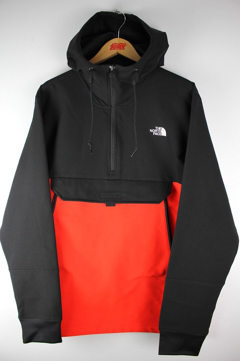THE NORTH FACE / TEKNO RIDGE PULLOVER HOODY JACKET / red×black