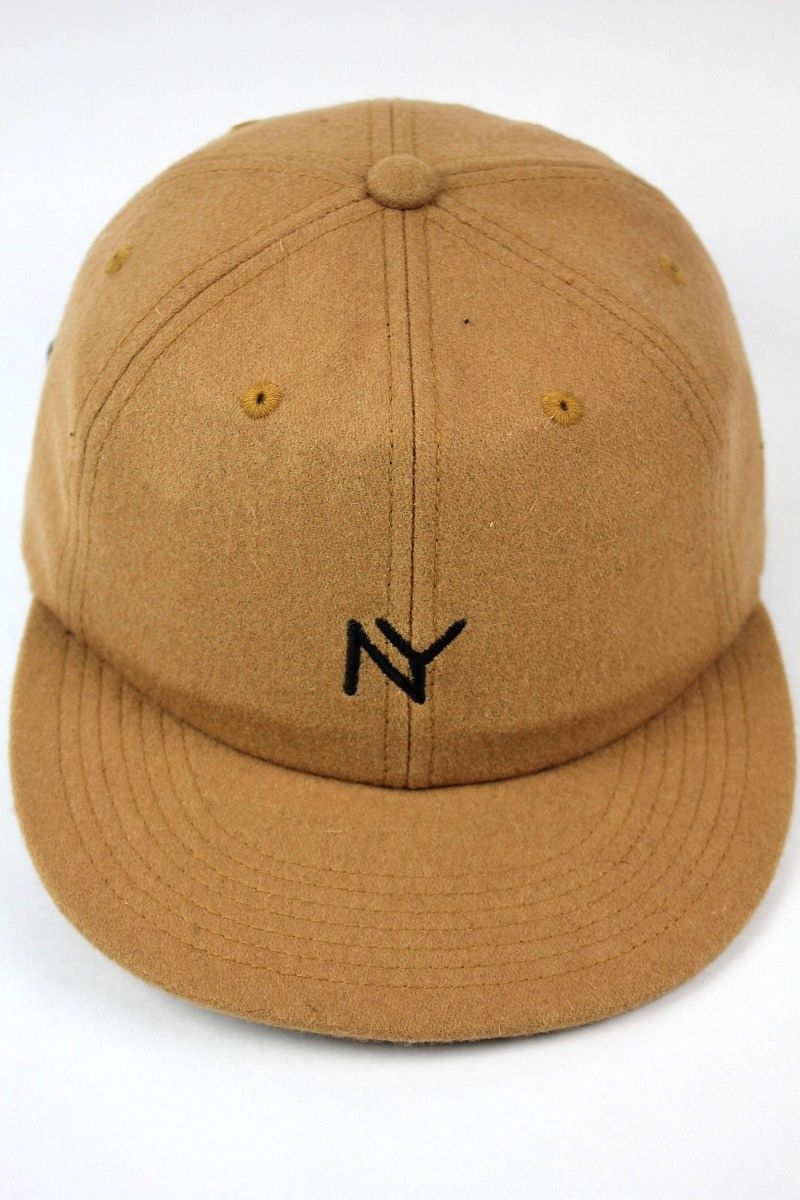 "ACAPULCO GOLD / ""NY"" WOOL STRAPBACK CAP / camel"