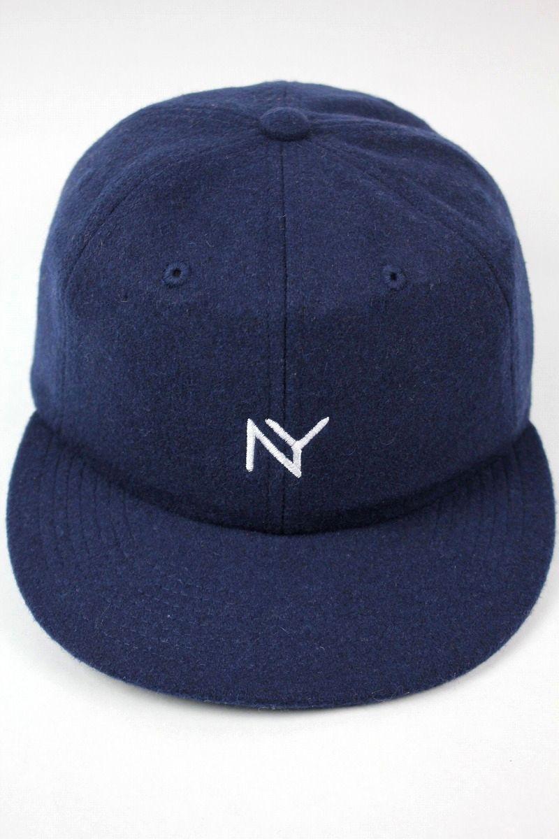 """ACAPULCO GOLD / """"NY"""" WOOL STRAPBACK CAP / navy"""