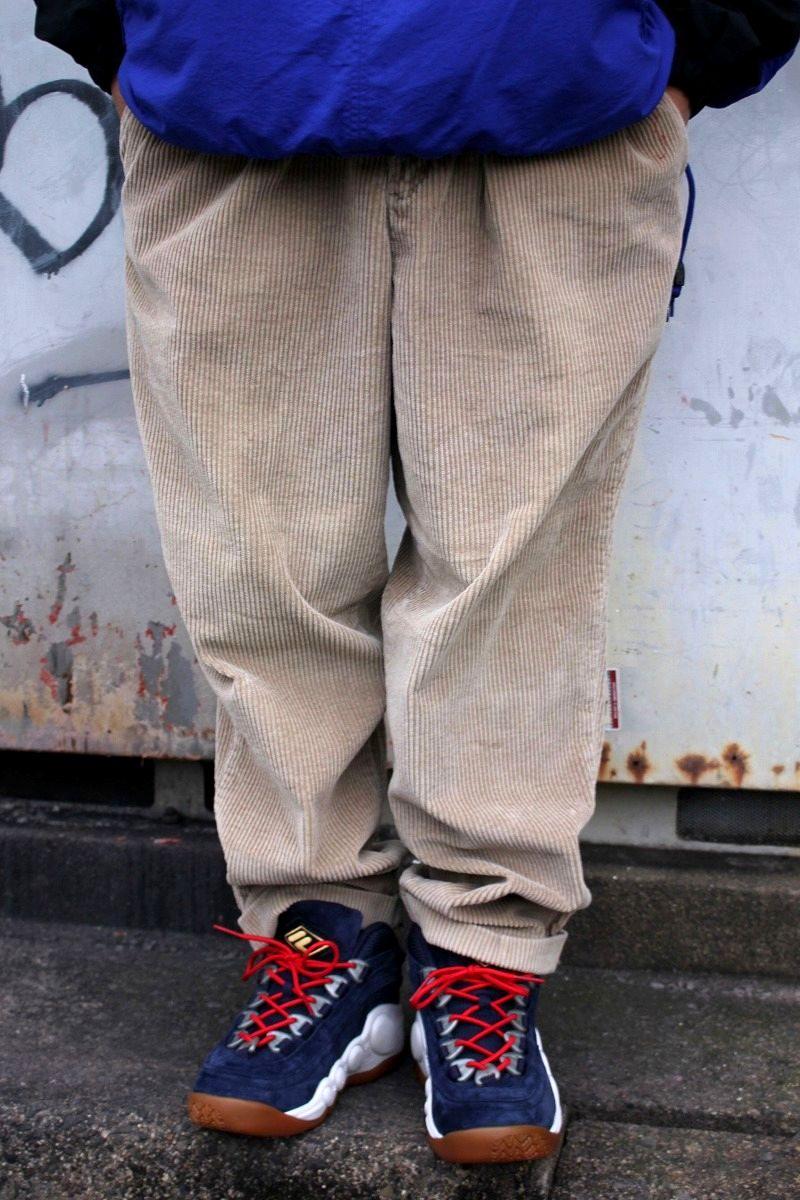 USED!!! DOCKERS / TWO-TUCK WIDE WALE CORDUROY PANTS (90'S) / beige