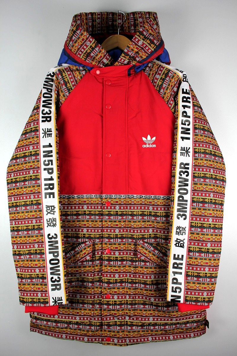adidas ORIGINALS×PHARRELL WILLIAMS / PADDED JACKET / red