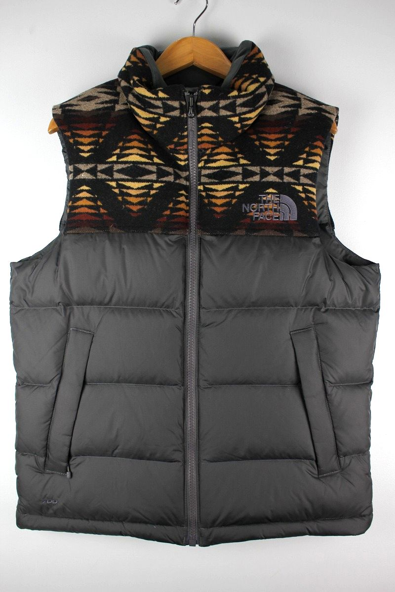 THE NORTH FACE × PENDLETON / NUPTSE VEST / chacoal×native pattern